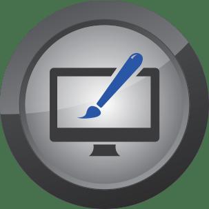 Website Development Icon for Web Media