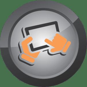 Website Design Icon for Web Media